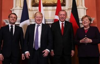 Londra'da Dörtlü Suriye Zirvesi: Erdoğan 'Görüşme...