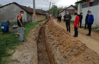 Maden Şirketinin Çalışması Köylüleri Susuz...