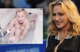 """Madonna'nın """"Salgın herkesi eşitledi"""" sözlerine..."""