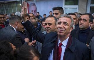 Mansur Yavaş, 2021 Dünya Belediye Başkanı Ödülü'nde...