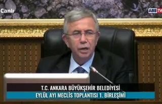 Mansur Yavaş: 'MEB'e Okulların Dezenfektan İhtiyacı...