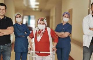 Mardin Devlet Hastanesinde birincil kere kısmi diz...