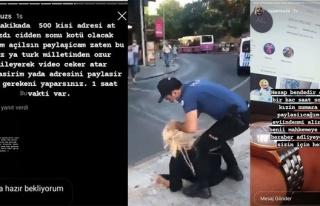 Maske Takmadığı İçin Gözaltına Alınan Kadının...
