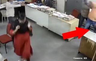 'Maskeni tak' diye uyaran iş arkadaşına saldırıp...
