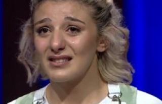 MasterChef yarışmacısı gözyaşlarına hakim olamadı