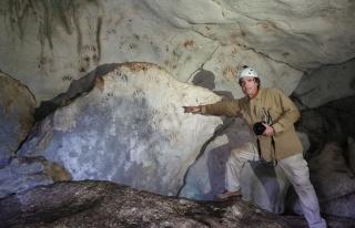 Maya Uygarlığına Ait 1200 Yıllık El İzleri Bulundu