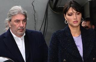 Mehmet Dereli sevgilisinin çocuğunu bağrına bastı