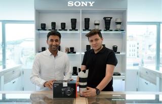 Mehmet Şirin Topaloğlu, Sony Avrupa marka elçisi...