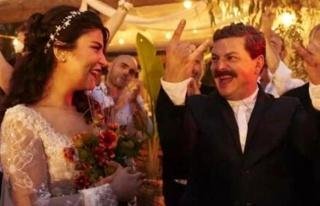 Mehmet Turgut ve Ada Sanlıman evlendi