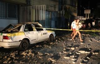 Meksika felaketi yaşıyor! Önce sel ardından deprem...