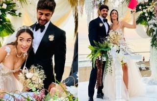 Melisa Emirbayer ile Sami Hamidi evlendi