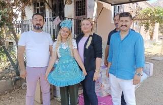 Mersin'de Yangında Tüm Çeyizi Yanan Fatma Tan'a...