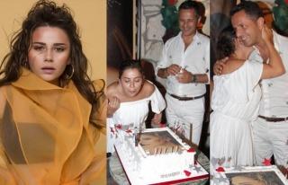Merve Özbey yaş gününü sevgilisiyle kutladı
