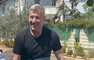 Metin Şentürk'ten motosikletli poz