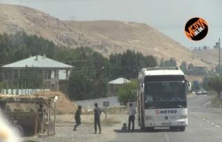Metro Turizm Kaçak Bir Şekilde, İran Sınırından...