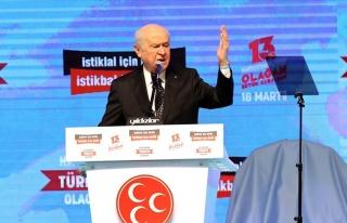 MHP'de Kurultay Günü: 'HDP, Türk Demokrasisinin...