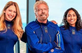 Milyarder Richard Branson, Ekibiyle Birlikte Bugün...