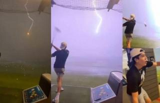 Milyonda Bir İhtimal Gerçek Oldu: Havadaki Golf...