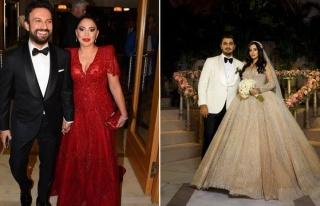 Modacının düğününde Tarkan'dan eşine büyük...