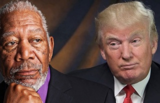 Morgan Freeman'dan olay Donald Trump mesajı