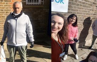 Mourinho, kimsesizlerin yardımına koşuyor