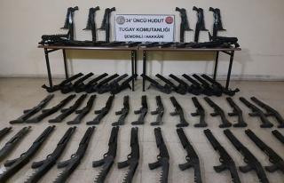 MSB: Hudut Hatlarında 60 Pompalı Tüfek, 2 Bin 500...