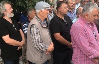 Müfit Can Saçıntı'nın babası toprağa verildi