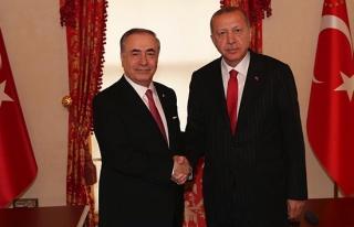 Mustafa Cengiz, Cumhurbaşkanı Erdoğan'ı ziyaret...