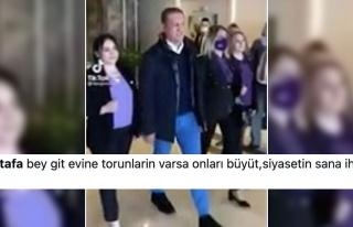 Mustafa Sarıgül'ün 'Komut'lu Kadın Yürüyüşüne...