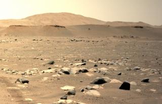NASA'dan Çarpıcı Görüntüler: Mars Helikopteri...