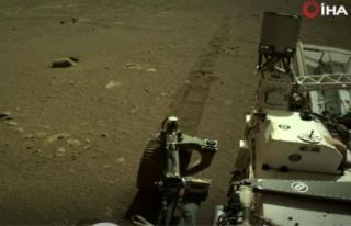 NASA, Mars kaşifinin yüzeydeki ilerleyişinin ilk...