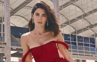 Nesrin Cavadzade'nin 19 bin TL'lik elbisesi