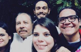 Nikaragua Devlet Başkanı Daniel Ortega'nın aile...