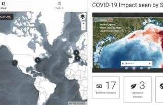 Öbür bir COVID-19 haritası
