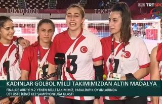 Olimpiyat Şampiyonu Olan Kadın Golbol Milli Takımımız:...