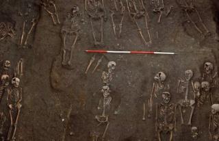 Orta çağ mezarından çıkan gerçek