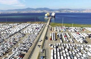 Otomotiv endüstrisi eylülde 2,5 milyar dolarlık...