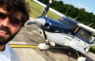 Oyuncu Can Nergis pilot oluyor