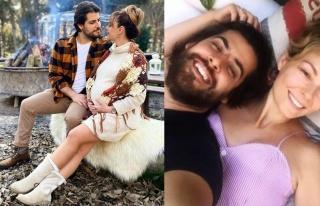 Özge Özder yeni doğan kızına sosyal medya hesabı...