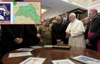 Papa pulunda harita skandalı! Birçok kentimiz sözde...