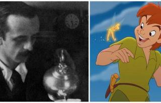 Peter Pan'ın Yaratıcısı James Matthew Barrie'nin...