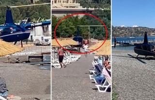 Plaja İniş Yapan Helikopterin Pilotu: 'Ailece Havacılığa...