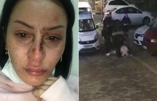 Polis Bir Kadını Yere Yatırıp Dövdü, Diğer...