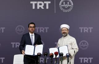 Protokol İmzalandı: 'TRT Diyanet Çocuk Kanalı'...