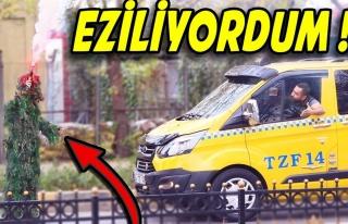 PUBG Oyunundaki Kamuflaj ile İstanbul Sokaklarına...