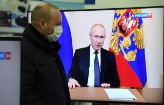 Putin 'Önceliğimiz Vatandaşların Sağlığı'...