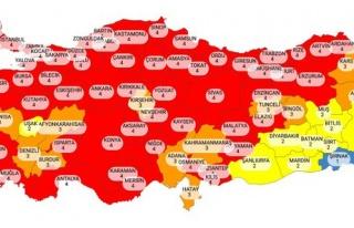 Risk Haritası Güncellendi: Kırmızı Kategorideki...