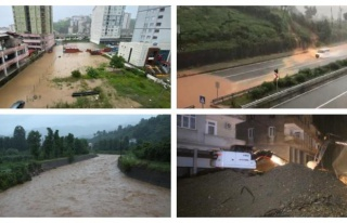 Rize'de Sel Felaketi: 2 Kişi Hayatını Kaybetti,...