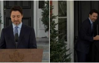Röportaj Sırasında Üşüyen Justin Trudeau, Eve...