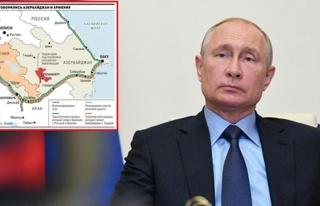 Rus basını tarihi Dağlık Karabağ haritasını...